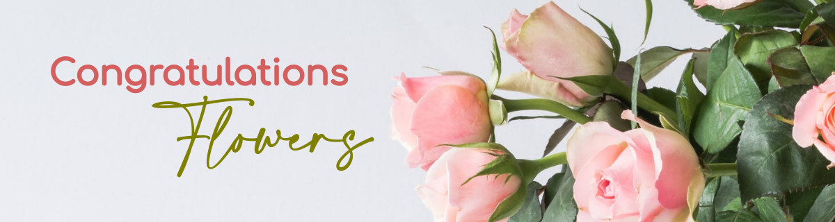 Has someone you love reached a major goal or achieved a significant accomplishment? If so, congratulate them by giving flowers. Flowers are an excellent way to express how proud you are. While a phone call will do, flowers are a physical representation of your congratulatory wishes . ​