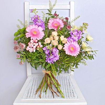 A gorgeous selection of seasonal flowers expertly arranged and hand delivered by our local florists, each Summer Pastel Bouquet is unique and feature a variety of hand cut, ethically sourced and sustainable flowers.