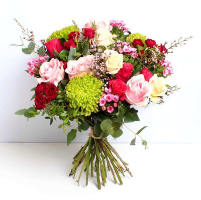 Indulgence bouquet makes the rest of our day very romantic and loving. It boosts our self-esteem by its beauty that reflects unto us.