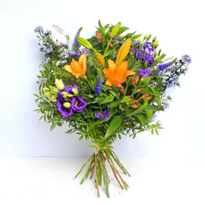 Jewel is a beautiful bouquet with the layers of the purple Jewel. It has an attractive scents make this bouquet lovable. The colour purple is very impressive in the overall beauty of this bouquet.