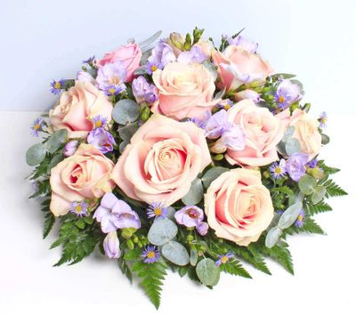 Rose and Freesia Posy flowers make the family grateful for this wonderful gift during the funeral. It will give relaxation feelings to the members of the family.
