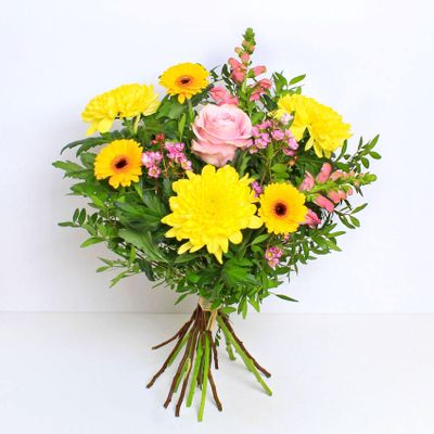 Sunshine and happiness is what Josie is all about. Lift the spirits and show your love this Mother's Day with this beautifully bright and cheerful bouquet.