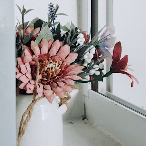 Silk Flower Halloween Floral Trends Banner