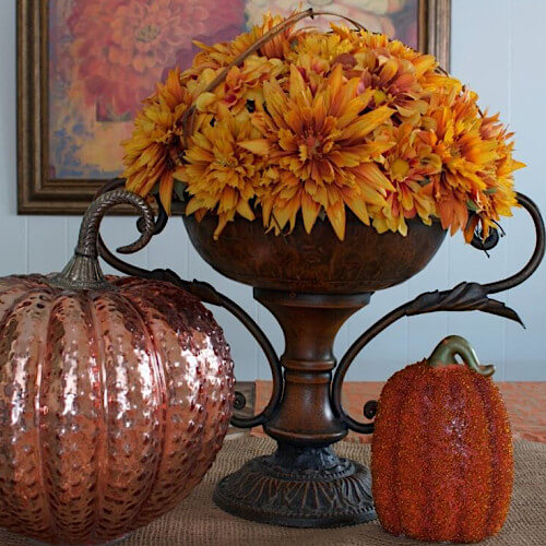 Vivid & Bright Halloween Floral Trends Banner